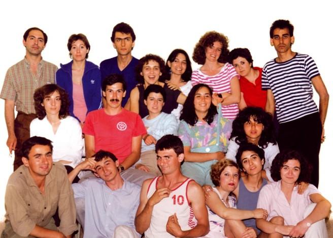 1985-El-primer-grup-dalumnes-de-Silla1