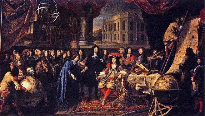 fundacion-de-la-real-academia-de-ciencias-de-paris-1666